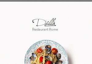 logo ristorante dilla di roma